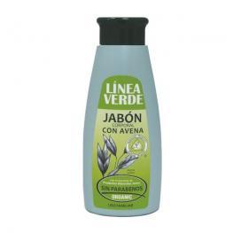Jabón Corp. Con Avena 400Ml.Linea Verde