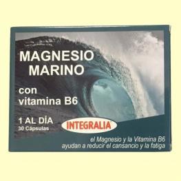 Magnesio Marino+Vit.B6 30Cáps.