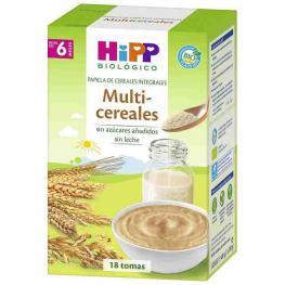 Hipp Bio  Papilla Multicereales +6Meses.