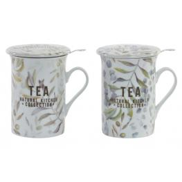 Taza Infusiones Hoja 280Ml.