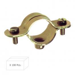 Abrazadera Metalica M-6   30 Mm. (Caja 100 Piezas)