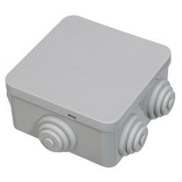 Caja Estanca Superficie Con Clip 80X80X40 Mm.