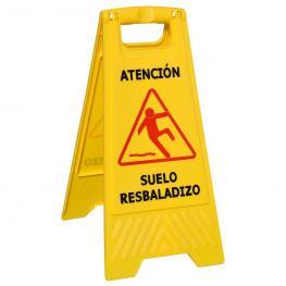 Cartel Atencion Suelo Mojado 64X30 Cm.