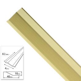 Tapajuntas Adhesivo Para Ceramica Aluminio Oro   82,0 Cm.