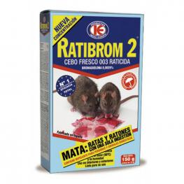 Cebo Raticida Fresco Ratibrom-2 150 Gr.