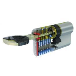 Cilindro Tesa Seguridad Tx85 /70/ Latonado
