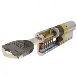 Cilindro Tesa Seguridad Tk1 35X35 Niquelado