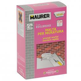 Edil Mortero Rapido Maurer (Caja 1 Kg.)