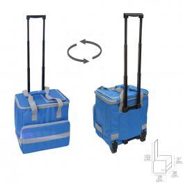 Nevera Bolsa Termica 38 Litros Azul Trolley
