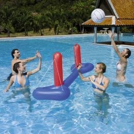 Flotador Red de Volley Con Pelota 41 Cm.