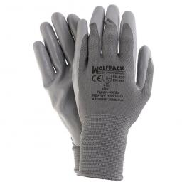 Guantes Nitrilo / Nylon Glovex Con Colgador  8 (Par)