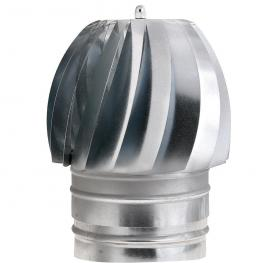 Sombrero Extractor Galvanizado Para Estufa 200 Mm.