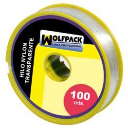 Hilo Nylon Transparente 0.5 Mm. Rollo 100 M.