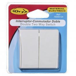 Interruptor / Conmutador Oryx Doble (Mecanismo)