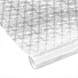 Lamina Adhesiva Translucida Geometrica 45 Cm. X 20 Metros