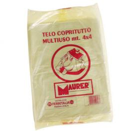 Plastico Cubretodo Maurer 4X4 Metros