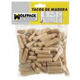 Espigas Madera 8X40 Mm. (Bolsa de 50 Piezas)