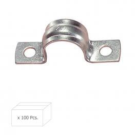 Grapa Metalica 2 Patas     20 Mm. Wolfpack Caja 100 Unidades