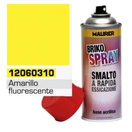 Spray Pintura Amarillo Fluorescente 400 Ml.