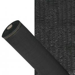 Malla Sombreo 90%, Rollo 4 X 50 Metros, Reduce Radiación, Protección Jardín y Terraza, Regula Temperatura, Color Negro