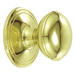 Pomo Oro Brillo Liso 70X85 Latonado Pulido