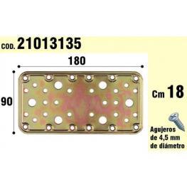 Soporte Para Madera Placa Bicromatada 90X180 Mm.