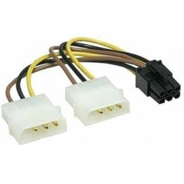 Adaptador Pcie Gembird Interno 66Pin X2Pc