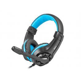 Auriculares Gaming Fury Wildcat Negro/azul