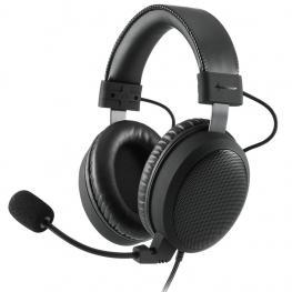 Auriculares Gaming Sharkoon B1 Negro Microfono Alambrico
