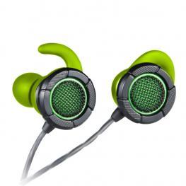 Auriculares Gaming Woxter Bud Verde Microfono Alambrico