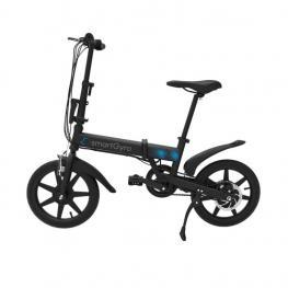 Bicicleta Electrica Smartgyro Ebike 250W 50Km 25Kmh Negro 19Kg 110Kg