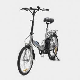 Bicicleta Electrica Smartgyro Ebike Milos  250W 50Km 25Kmh Plata 20Kg 100Kg