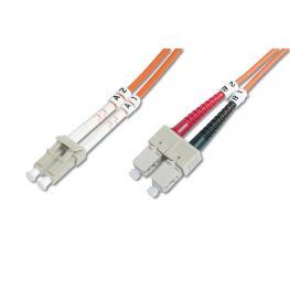 Cable Conexiën Fibra Optica Digitus Mm Om2 Lc A Sc 50/125 5M