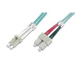 Cable Conexiën Fibra Optica Digitus Mm Om3 Lc A Sc 50/125 7M