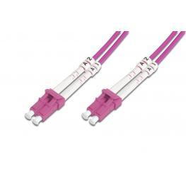 Cable Conexiën Fibra Optica Digitus Mm Om4 Lc A Lc 50/125 10M