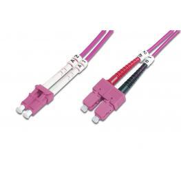 Cable Conexiën Fibra Optica Digitus Mm Om4 Lc A Sc 50/125 10M