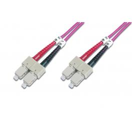 Cable Conexiën Fibra Optica Digitus Mm Om4 Sc A Sc 50/125 1M