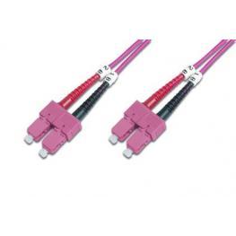 Cable Conexiën Fibra Optica Digitus Mm Om4 Sc A Sc 50/125 2M