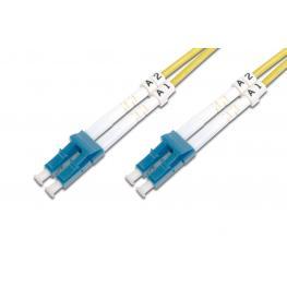 Cable Conexiën Fibra Optica Digitus Sm Lc A Lc Os2 09/125 1M