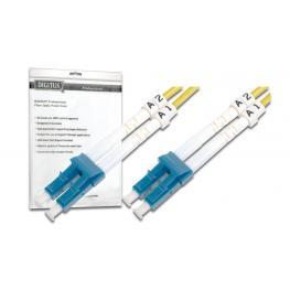 Cable Conexiën Fibra Optica Digitus Sm Lc A Lc Os2 09/125 10M