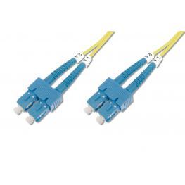 Cable Conexiën Fibra Optica Digitus Sm Sc A Sc Os2 09/125 5M