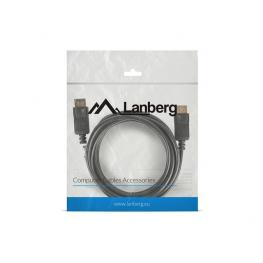 Cable Displayport Lanberg Macho Macho 4K 3M Negro