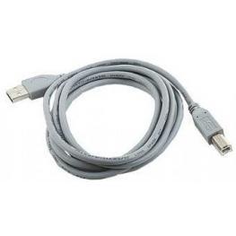 Cable Usb Gembird Impresora Usb 2.0 B 1,8M Gris