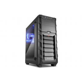 Caja Atx Sharkoon Sgc1 Skiller 2Xusb3.0 Sin Fuente Azul