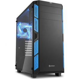 Caja Gaming Sharkoon Ai7000 Atx 2Xusb3.0 2Xusb2.0 Sin Fuente Cristal Azul