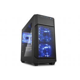 Caja Microatx Sharkoon V100 Windows 2Xusb3.0 Sin Fuente