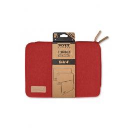 Funda Portatil Port Torino 13,3-14 Rojo