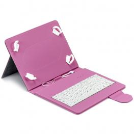 Funda Tablet Maillon Urban Keyboard Usb 9.7-10.2 Rosa