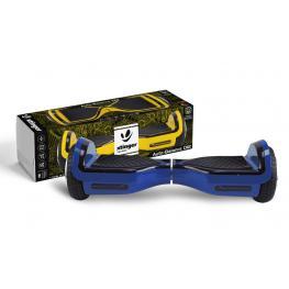 Hoverboard Xtinger D12 500W 15Km 15Km/h Azul 11Kg 100Kg Bluetooth Funda