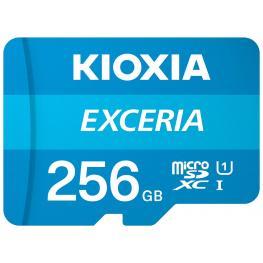Micro Sd Kioxia 256Gb Exceria Uhs-I C10 R100 Con Adaptador